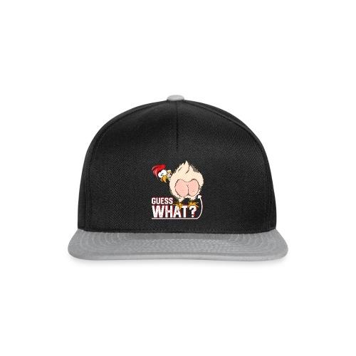 GuessWhat Chicken Butt | Chicken Lover Farm - Snapback Cap