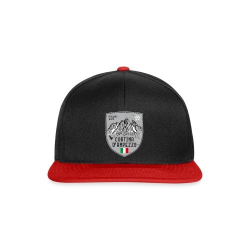 Cortina d Ampezzo Italien Wappen - Snapback Cap