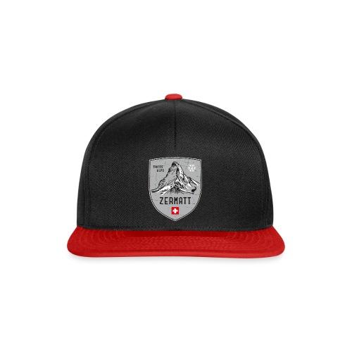 Zermatt Schweiz Wappen - Snapback Cap