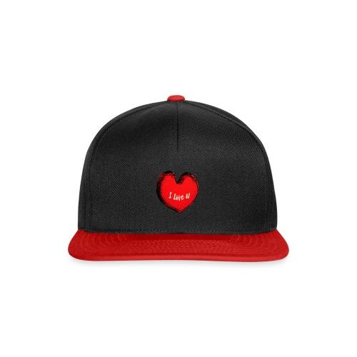 I love U - Snapback Cap