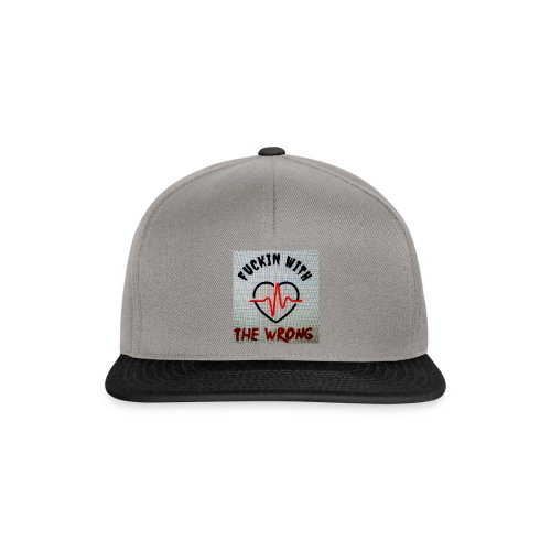 FUCKIN WITH THE WRONG - Snapback cap