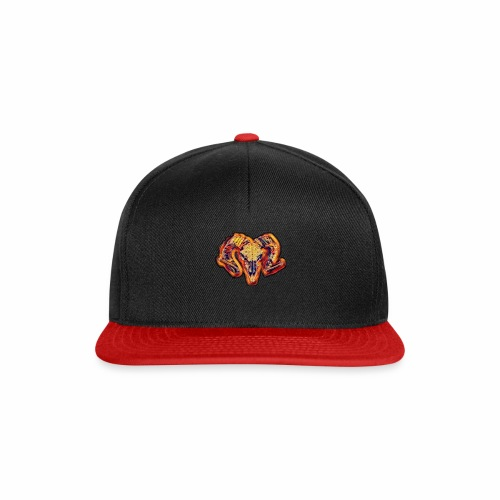 bull on fire medio - Gorra Snapback