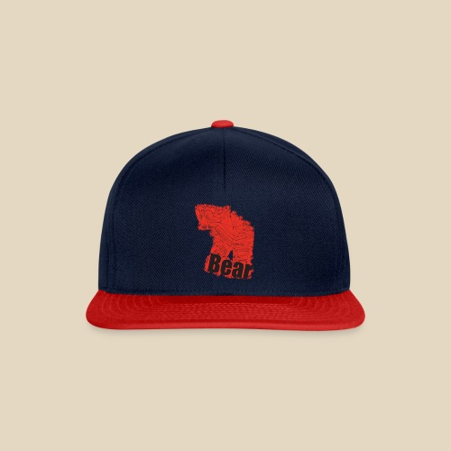 Red Bear - Casquette snapback
