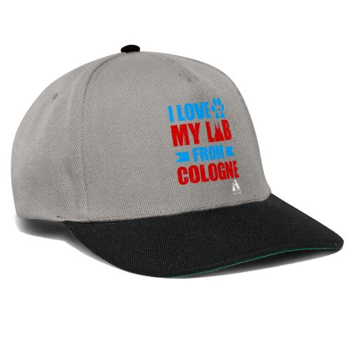 I love my LAB from COLOGNE! - Snapback Cap