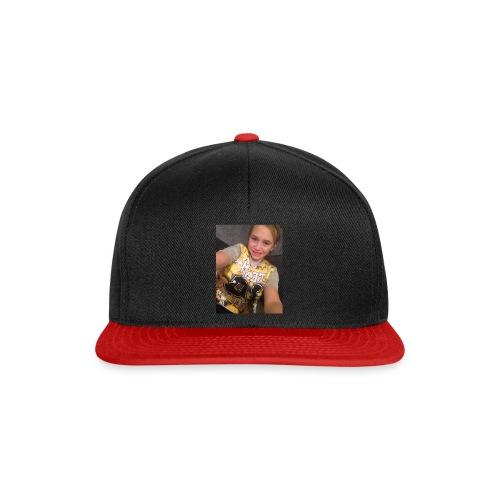 olviapearsonvlogs picture design - Snapback Cap