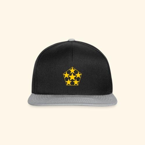 5 STAR gelb - Snapback Cap