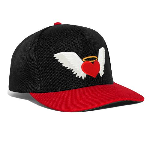Winged heart - Angel wings - Guardian Angel - Snapback Cap