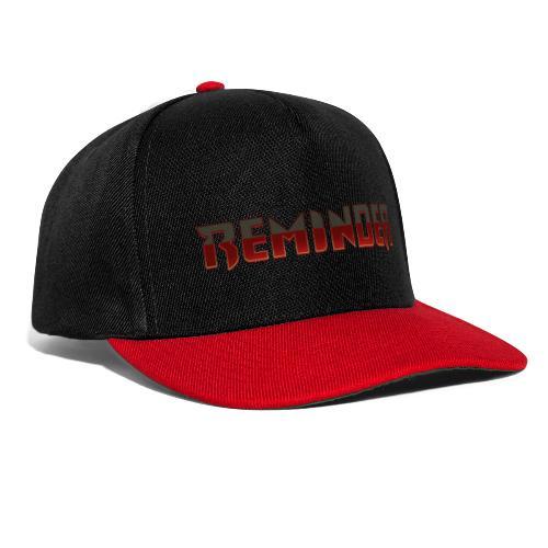 Reminder italian logo - Snapback cap