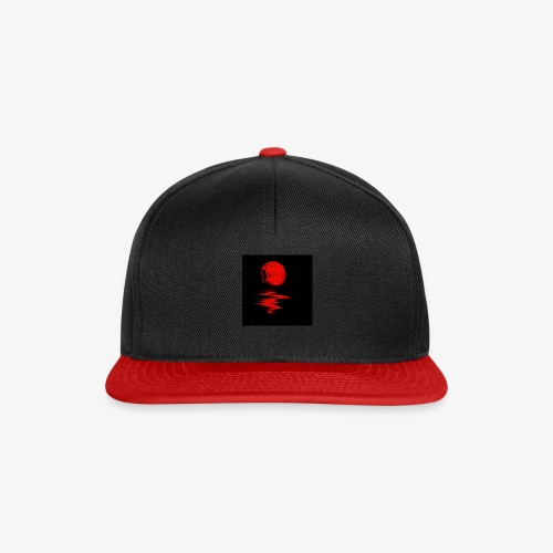 cartoon background - Snapback Cap