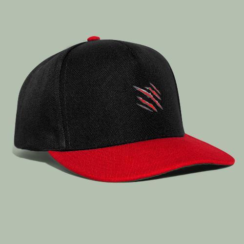 graffio rosso - Snapback Cap