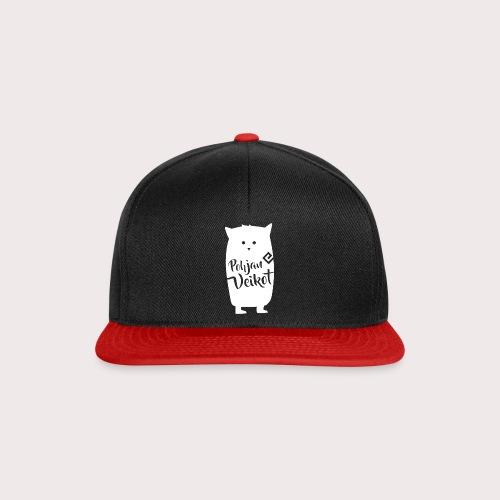 Veikko-pöllö valkoinen - Snapback Cap