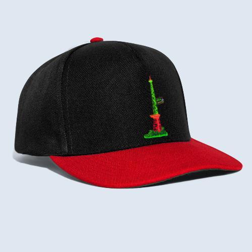 "Berliner Original ""Funkturm"" PopArt Design - Snapback Cap"
