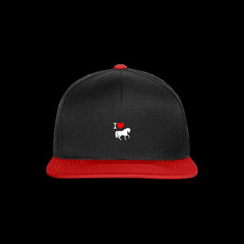 Love Horses - Snapback cap