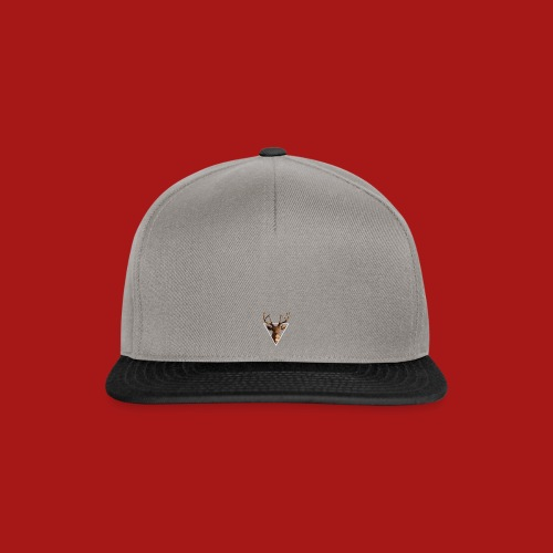 Deer-Head GOLD - Snapback Cap