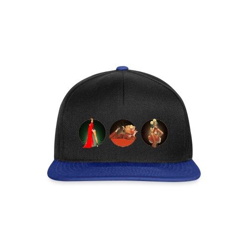 Pinup your Life - Xarah as Pinup 3 in 1 - Snapback Cap