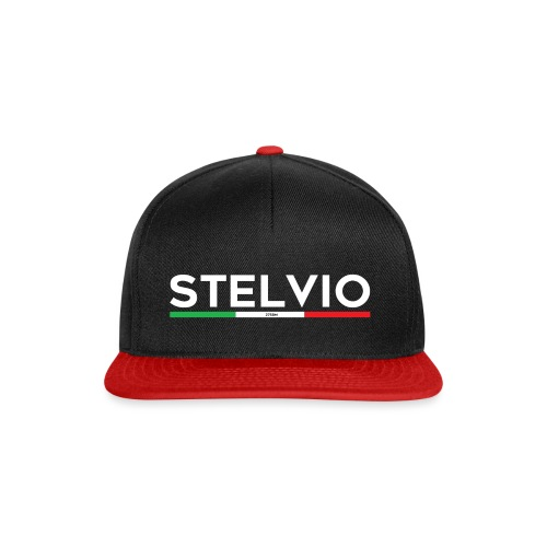 Stelvio mit Flagge - Snapback Cap