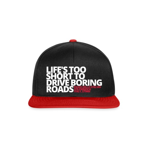 LIFE'S TOO SHORT - Snapback Cap