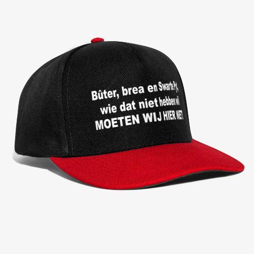 Bûter, brea en Swarte Pyt - Snapback cap