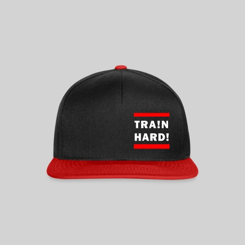 train hard blank - Snapback Cap