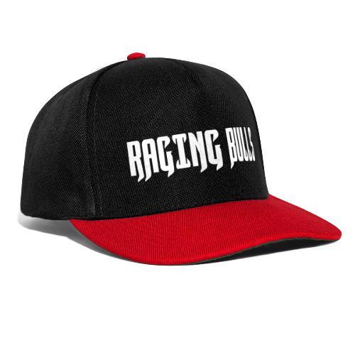 Raging Bulls Schrift1c - Snapback Cap