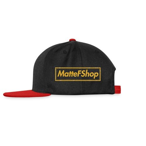 Gold Collection! (MatteFShop Original) - Snapback Cap