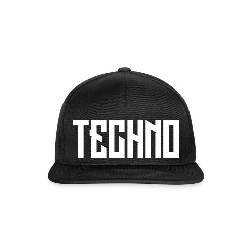 Techno_V5 - Snapback Cap