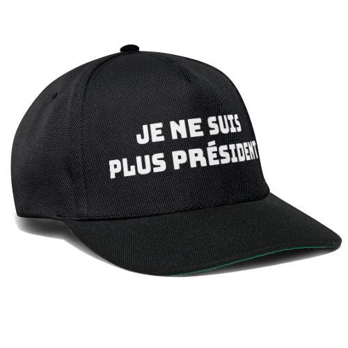 Ik ben geen voorzitter - Snapback cap