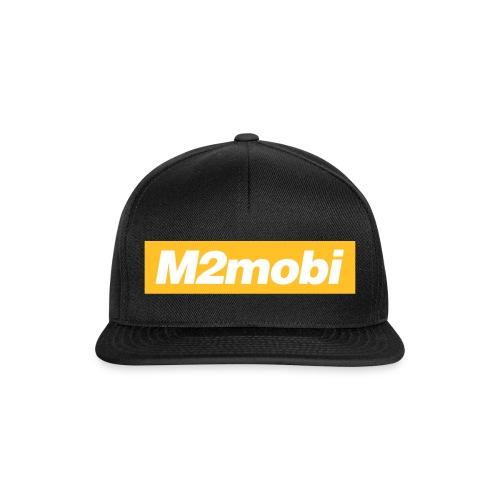 M2mobi oblique 02 - Snapback cap