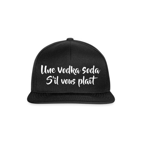 une vodka soda - Casquette snapback