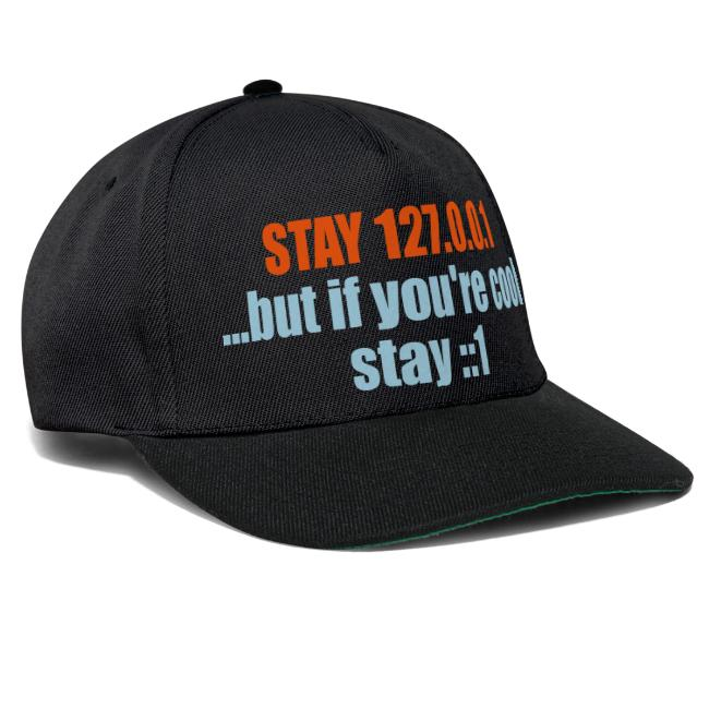STAY 127.0.0.1