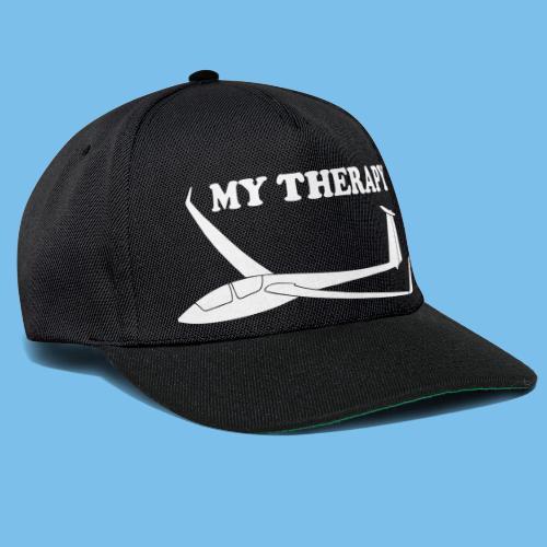 Therapie Segelflieger gleiten Segelflugzeug - Snapback Cap