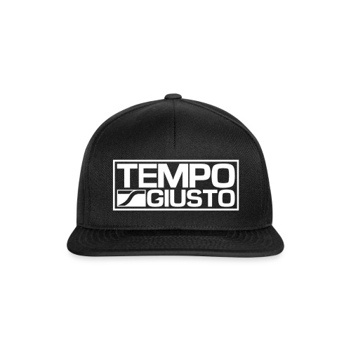 Tempo Giusto Rectangle - Snapback Cap