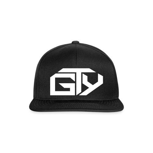 GTY_Logo_solo_weiß_Pfade( - Snapback Cap