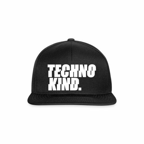 Techno Kind Rave Kultur Berlin Vinyl Progressive - Snapback Cap