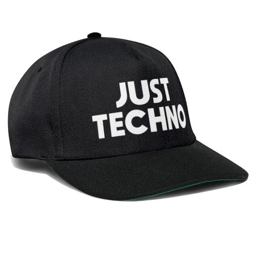 Just Techno - Snapback Cap