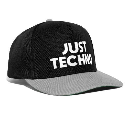 Just Techno - Snapback Cap