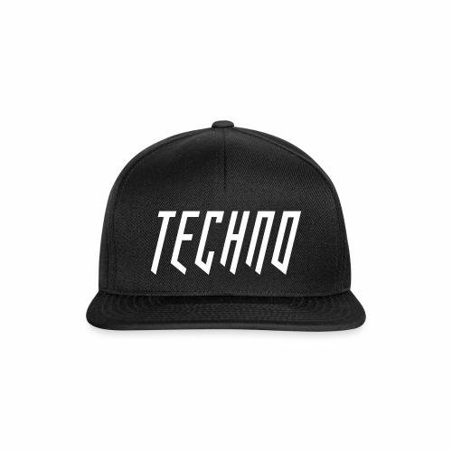 Techno_2019_V6 - Snapback Cap