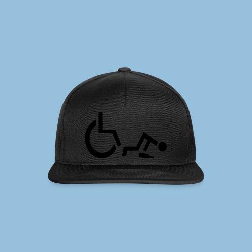Drunkenwheelchair2 - Snapback cap