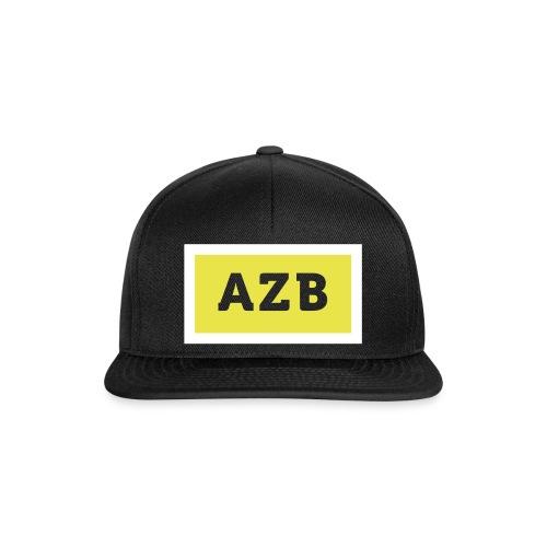AZB Wit Geel Back - Snapback cap