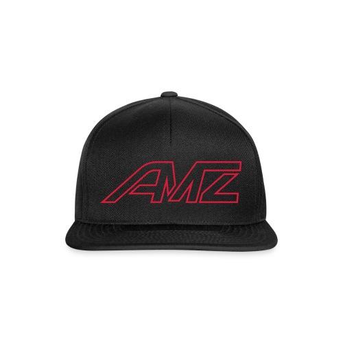 Logo AMZ rot schrift - Snapback Cap