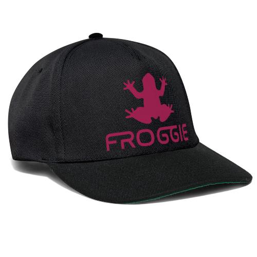 Froggie's Offical Merch - Megenta - Snapback Cap