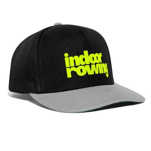 indoor rowing - Snapback Cap