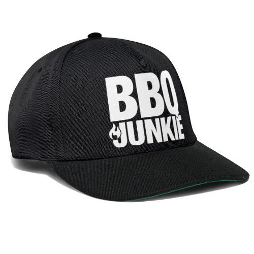 BBQ Junkie on Fire - Snapback cap