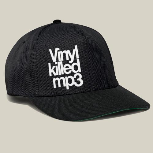 Vinyl_killed_mp3 - Snapback Cap