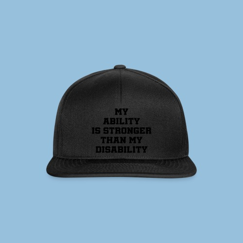 Ability3 - Snapback cap