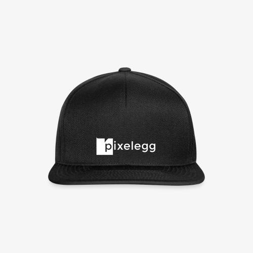 pixelegg Logo Weiss - einfärbbar!!! - Snapback Cap