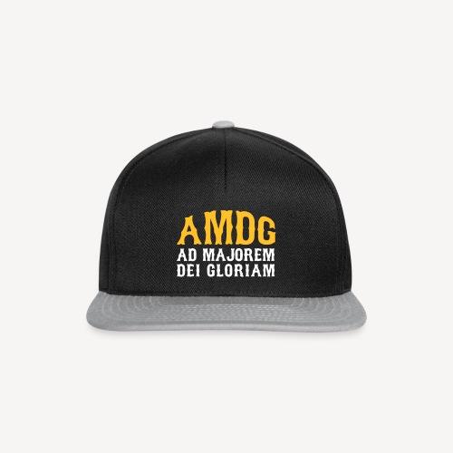 AMDG AD MAJOREM DEI GLORIAM - Snapback Cap