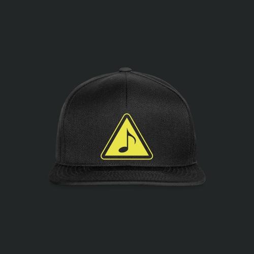 schwarz-vorne - Snapback Cap
