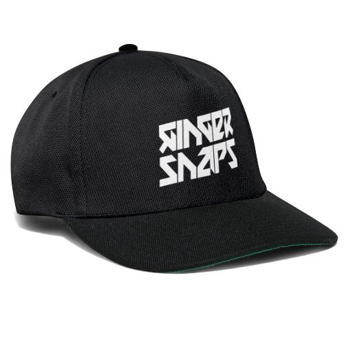 Ginger Snap5 logo (two lines white) - Snapback Cap