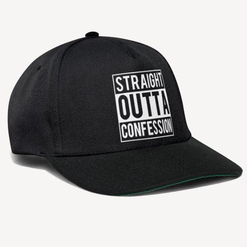 STRAIGHT OUTTA CONFESSION - Snapback Cap
